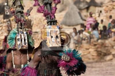 Satibe Maske und die Dogon Tanz, Mali.