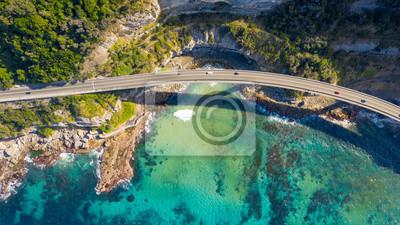 Poster Scenic view of the Illawarra Coastline