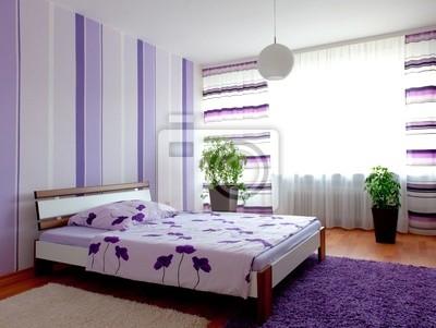Poster: Schlafzimmer