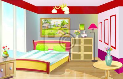 Poster Schlafzimmer