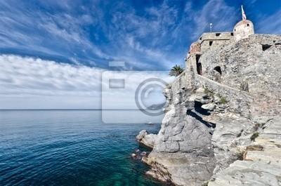 Schloss von Camogli, Italien