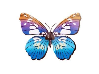 Poster Schmetterling Wandaufkleber