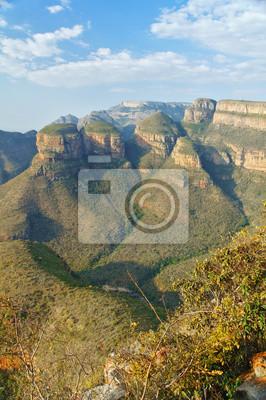 Schöne Aussicht auf Blyde River Canyon, Natur von Südafrika