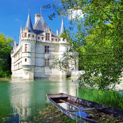 schöne Azey -le- redeau Schloss