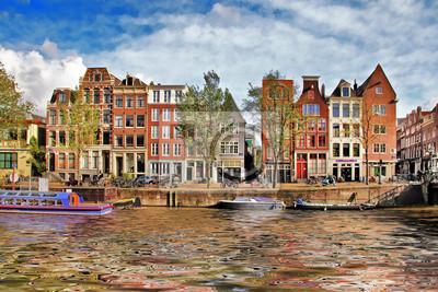 schönen Grachten von Amsterdam