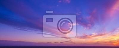 Poster Schöner Sonnenuntergang in Florida