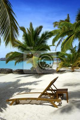 Schöner Strand auf den Malediven