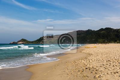 Schöner Strand südlich von Brasilien, Florianópolis