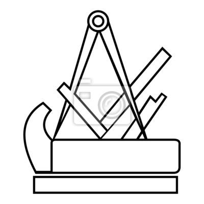 schreiner symbol zeichen emblem v1 wandposter poster