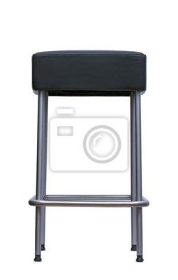 schwarzen Stuhl