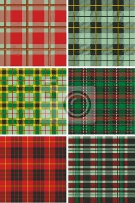 Scottish Tartan Plaid-Muster