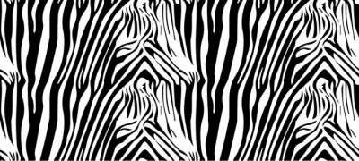 Poster Seamless Zebramuster