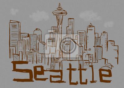 Seattle-Stadtweinlese