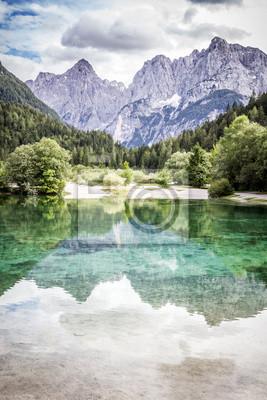 See in der Nähe von Jasna Gora Kranjska, Slowenien.