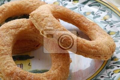 Sfogliatine di villafranca - dolci - cucina del veneto wandposter ...