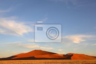 Sharp edged dunes