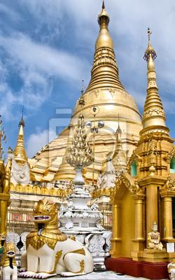 Shwedagon Paya, Yangon, Burma