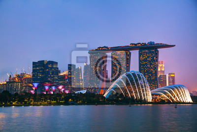 Singapur Finanzbezirk