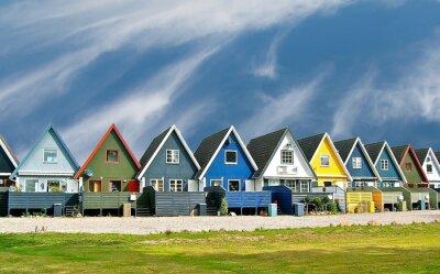 Poster skandinavische Häuser