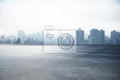Poster Skyline der Stadt