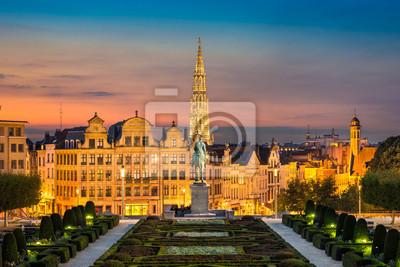 Skyline von Brüssel, Belgien