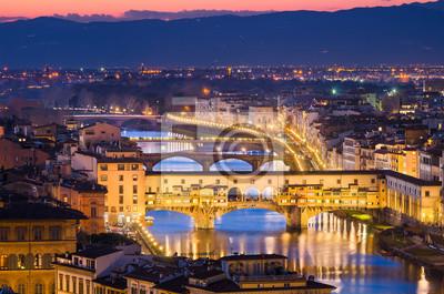 Skyline von Florenz, Italien