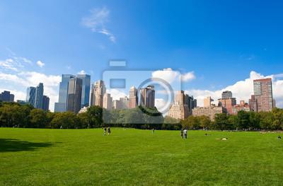 Skyline von Manhattan aus dem Central Park