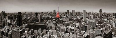 Poster Skyline von Tokio