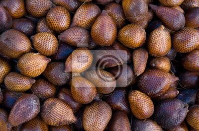 Snake fruit. Indonesia. exotic fruits
