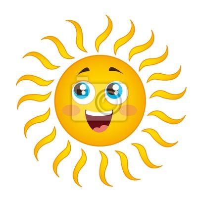 Poster Sonnekarikatur