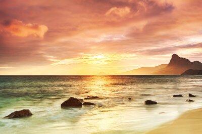 Poster Sonnenaufgang