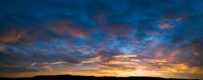 Poster Sonnenuntergang Himmel