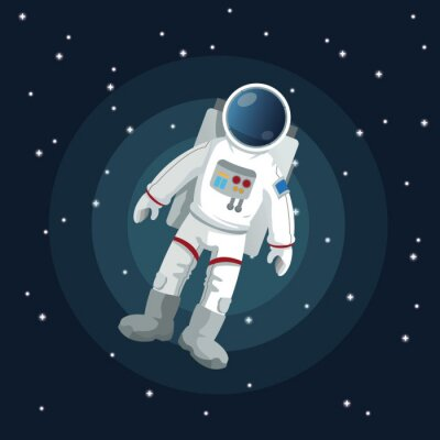 Poster Space-Symbol-Design