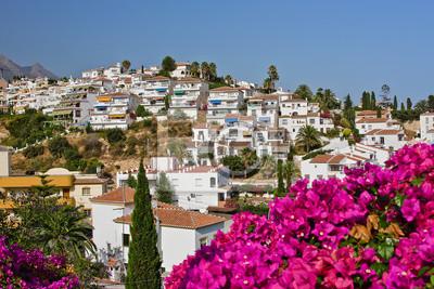 Spanische Landschaft, Nerja, Spanien