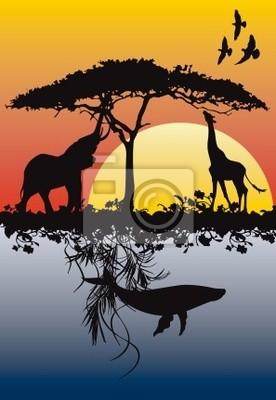 Speichern Erde, Wasser und Luft Hintergrund