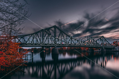 Poster Spionsbrücke Deutschland