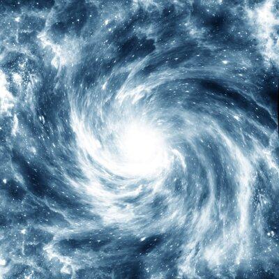 Poster Spiralgalaxie