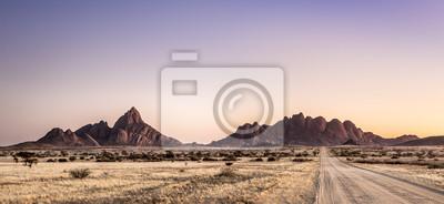 Spitzkoppe Landschaft, Namibia.