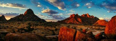 Poster Spitzkoppe Naturschutzgebiet, Namibia