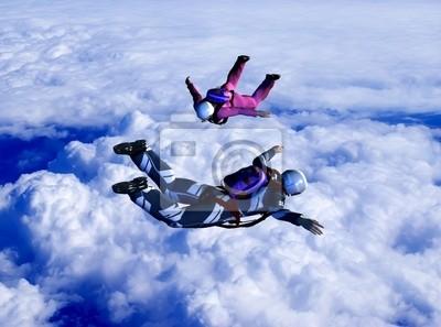Sport ist in Himmel
