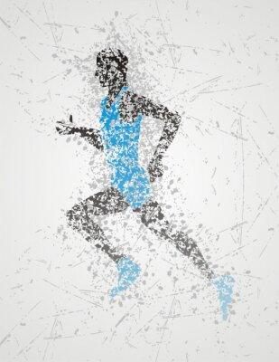 Poster Sportler Design