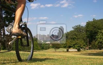 städtischen biker