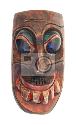 Stammes-Maske