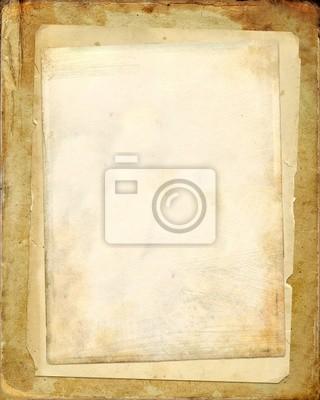 Stapel von alten Papieren