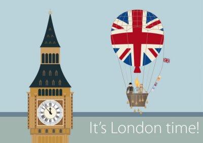 Poster Stilvolle London-Zeichnungen