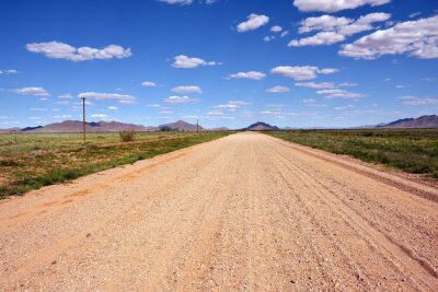 Straße in Namibia, Afrika
