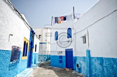 Straße von Rabat, Marokko
