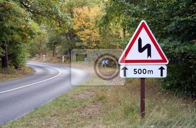 Straßenzeichenhintergrund