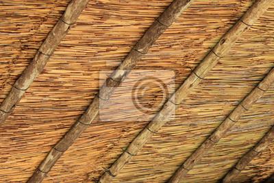 Straw Hut's Roof Pattern