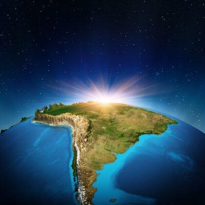 Poster Südamerika